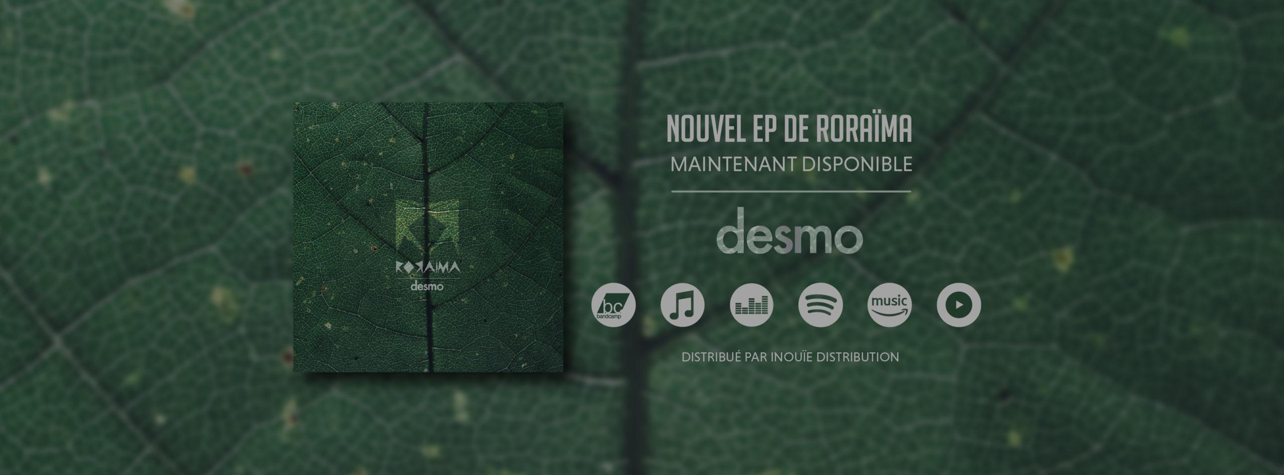 Read more about the article Sortie de confinement avec Roraïma et leur deuxième EP