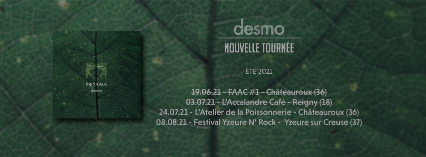 Tournée 2021 - desmo - Roraïma